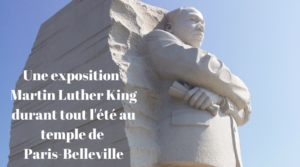 Une exposition Martin Luther King dans le temple de Paris-Belleville