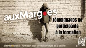 Témoignages de participants à la formation Aux marges !